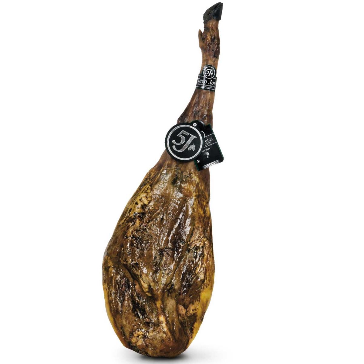 """Хамон Иберико Бейота """"5J"""" (Синко Хотас) 8 кг., 36 + мес."""
